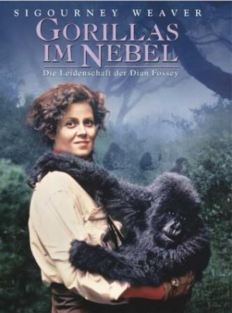 Gorillák a ködben (1DVD) (Dian Fossey életrajzi film)