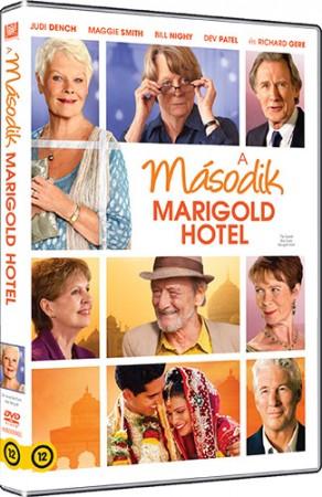 Keleti nyugalom - A második Marigold Hotel (1DVD)